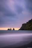 Vik Beach Sunset print