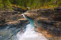 Robson Waterfall print