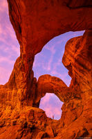 Double Arch print