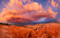 Bryce Canyon Sunset print