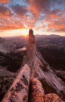 Eichorn Pinnacle Sunset print