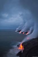 Lava Storm print
