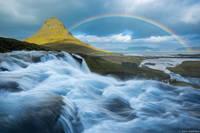 Kirkjufell Rainbow print