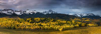 Stormy Sunrise over Sneffels Range print