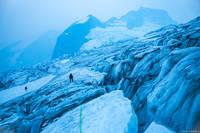 Glacier Navigation print