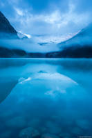 Lake Louise Dawn print
