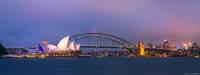 Sydney Harbor Panorama print