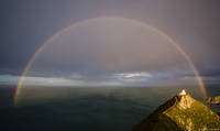 Nugget Point Full Rainbow