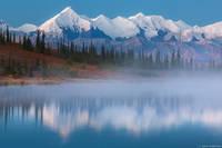 Alaska Range Dawn print