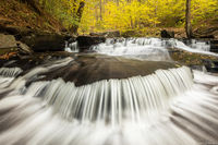 Ricketts Glen Cascades print