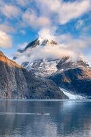 Glacier Bay Kayaker print
