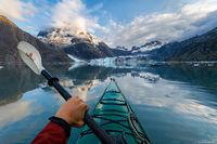 Glacier Bay Kayking print