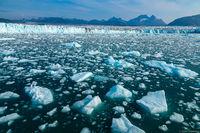 Columbia Glacier print