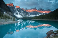 Moraine Lake Sunrise print