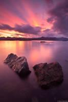 Isla Tangbac Sunset print