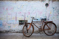 Izamal Bike print