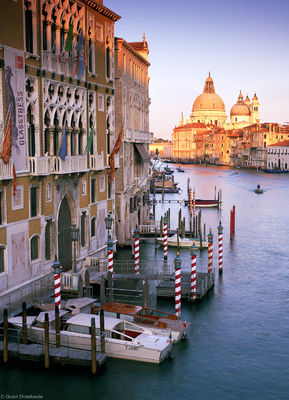 grand canal, venice, italy, boats, home, day, sunset, end