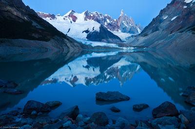laguna, torre, reflection, el chalten, argentina, rare, windless, morning, beautiful