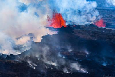 lava, hot, fields, vatnajökull, iceland, eruption, steam, fissure, bardarbunga, volcano, holuhraun,