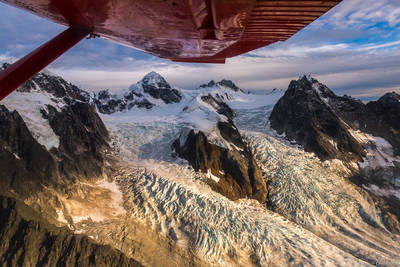 little, switzerland, denali, national, park, alaksa, usa, flying,
