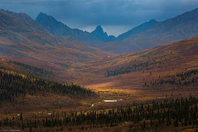 tombstone, tundra, territorial, park, yukon, canada, mountain, autumn, dempster, highway,