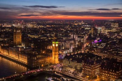 london, dusk, england, parliament, westminster, abbey, eye, heart,