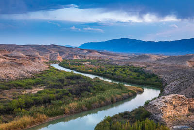 rio, grande, river, big, bend, national, park, texas, usa, border, mexico,