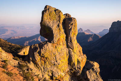 lost, mine, hiker, big, bend, national, park, texas, usa, summit, chisos, mountains