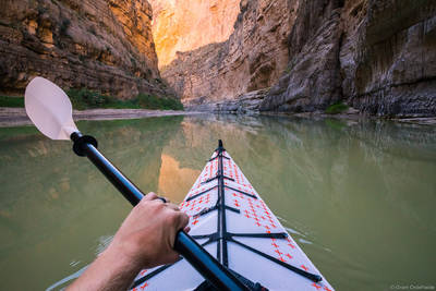 santa, elena, kayaking, big, bend, national, park, texas, usa, paddling, river, rio, grande,