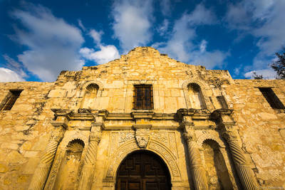 alamo, san, antonio, texas, usa, iconic, misson, historical, battle, downtown,