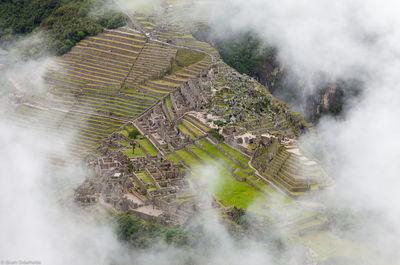 huayna, picchu, aguas, calientes, peru, ruins, machu, summit