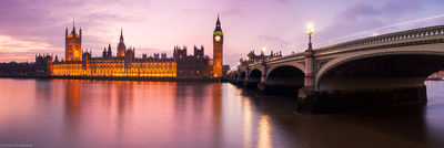 parliament, london, england, big ben, reflected, river, thames