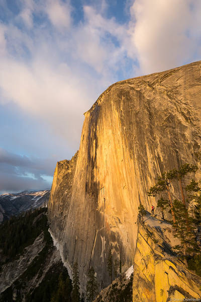 California, national park, usa, yosemite, diving, board, sunset, monolithic, northwest, face,