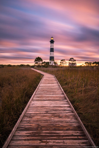 bodie, island, lighthouse, nags head, north carolina, stormy, sunset, historic, outer, banks,