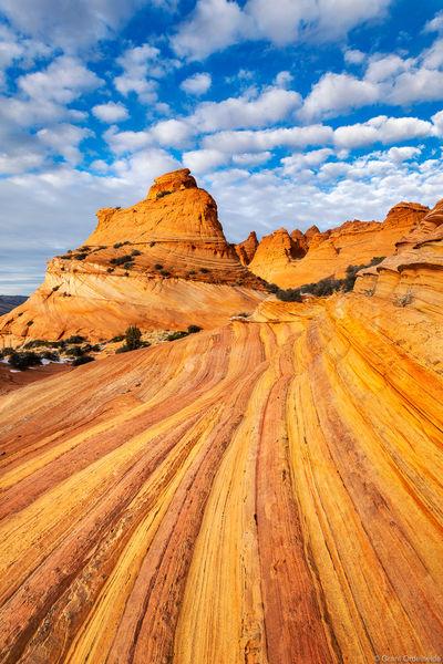 coyote, buttes, paria, canyon, vermillion, cliffs, wilderness, arizona, light, afternoon, remote, sandstone, formation