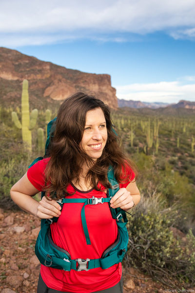 arizona, backpacker, superstition, mountains, female, hiker, backpacking, phoenix