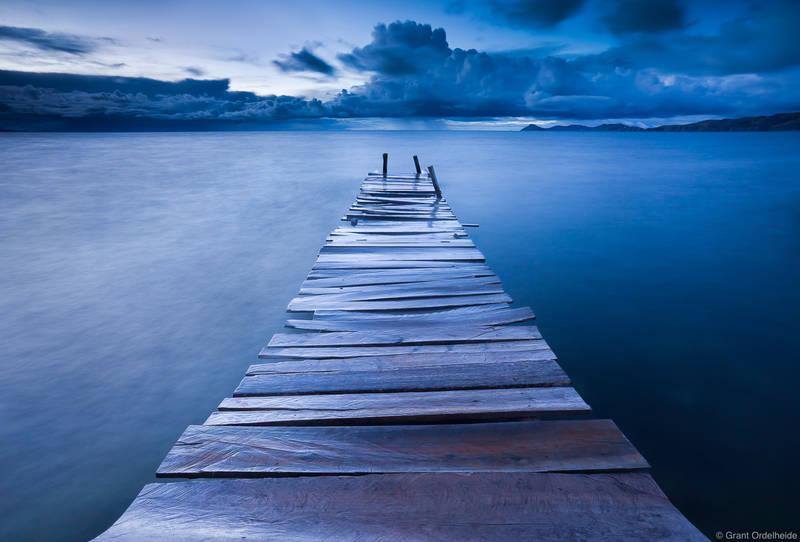 titicaca, dock, copacabana, bolivia, old, dock, shores, lake, highest, navigable, peru, bolivia
