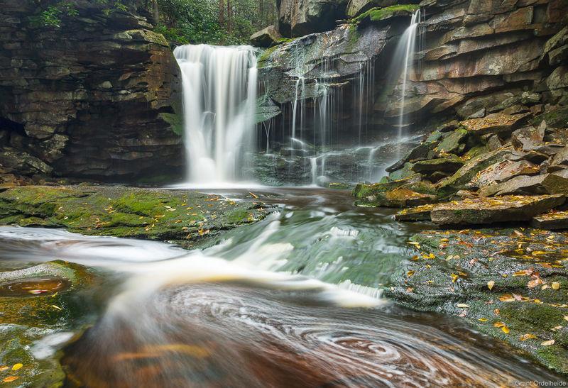 elakala, falls, west, virginia, blackwater, falls, state park,