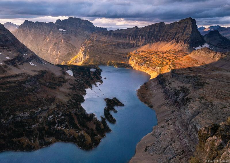 Hidden Lake Autumn