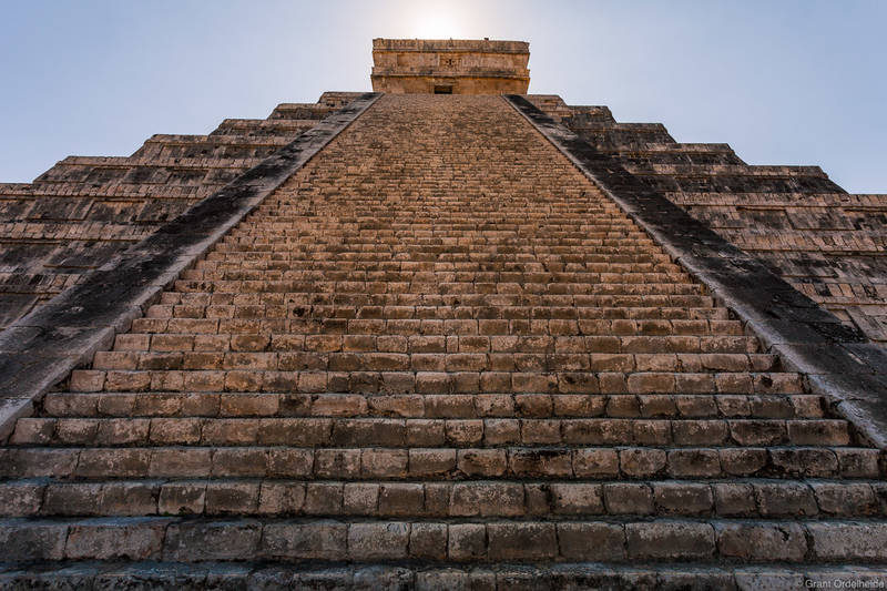 chichen itza, yucatan, mexico, temple of kukulan, historic, structure, el castillo, equinox