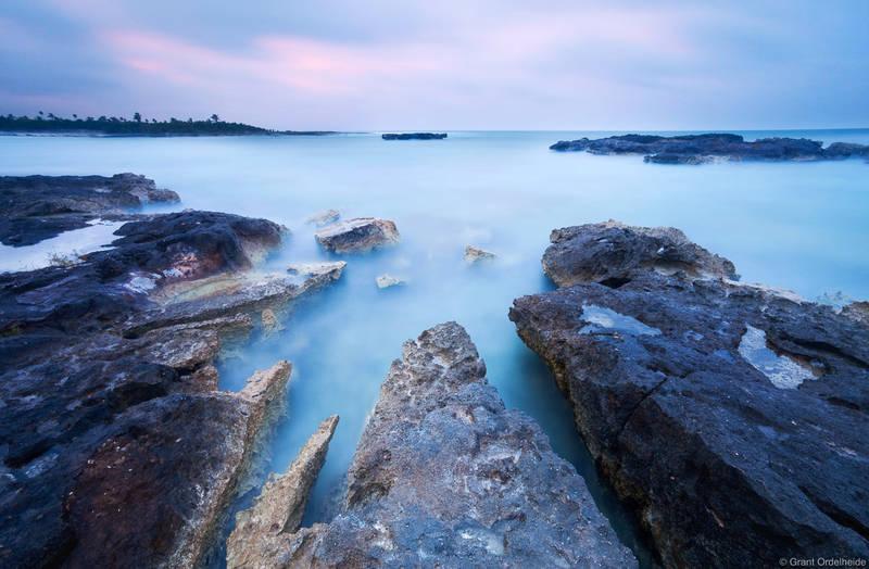 akumal, lagoon, lava, rocks, mexico, yucatan