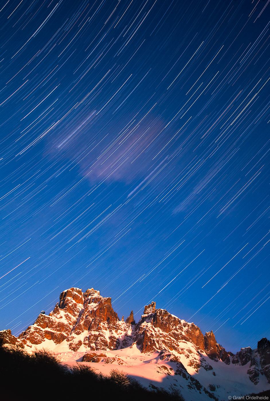 cerro, castillo, star, trails, coyhaique, peak, tallest, national, reserve, photo