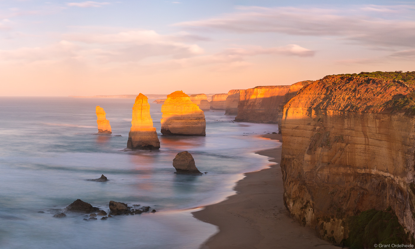 twelve, apostles, sunrise, victoria, australia, early, morning, iconic, great, ocean, road,, photo