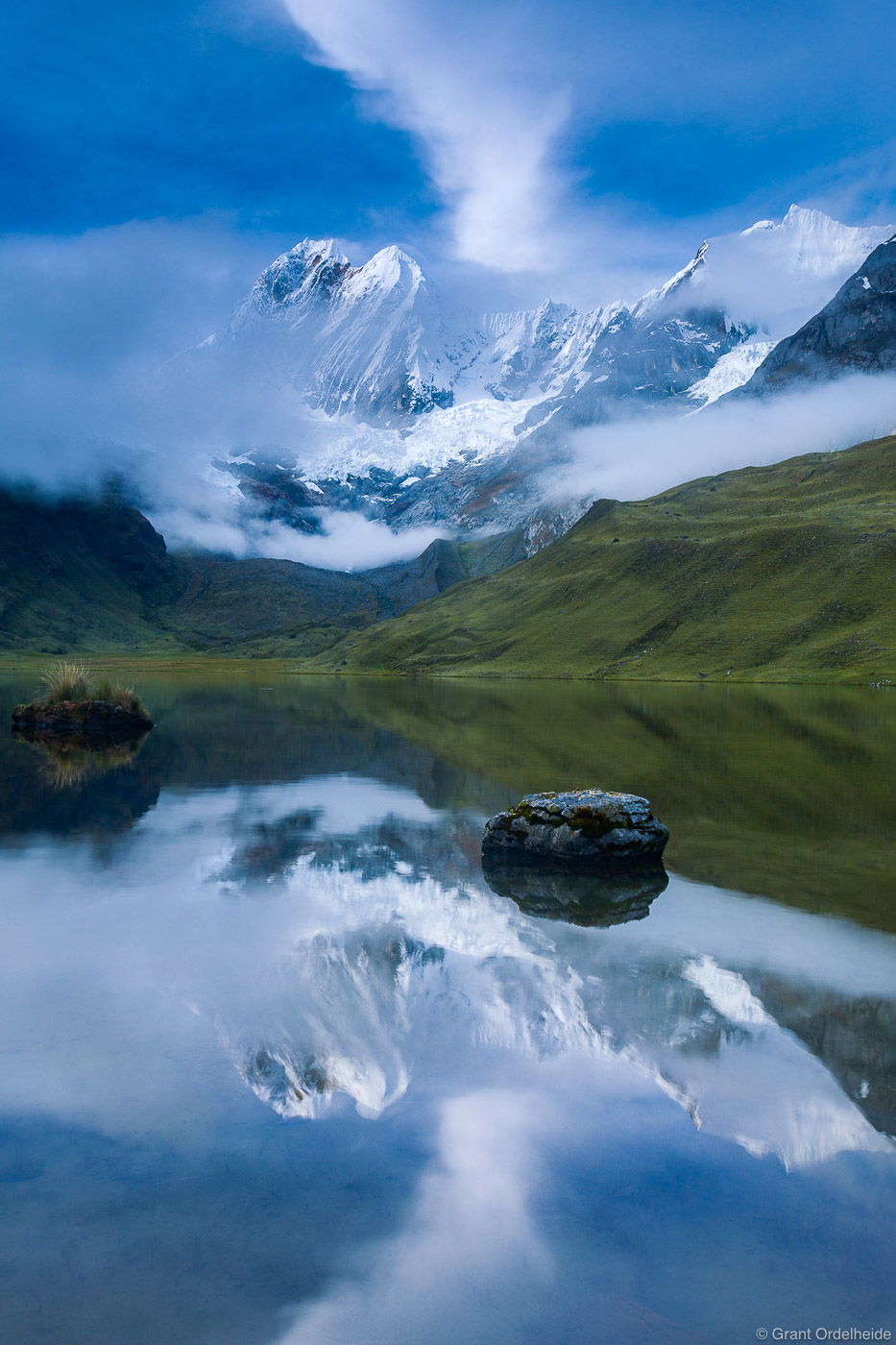 At 20,098 feet, Jirishanca is the tenth highest mountain in Peru and the third highest in Cordillera Huayhuash.