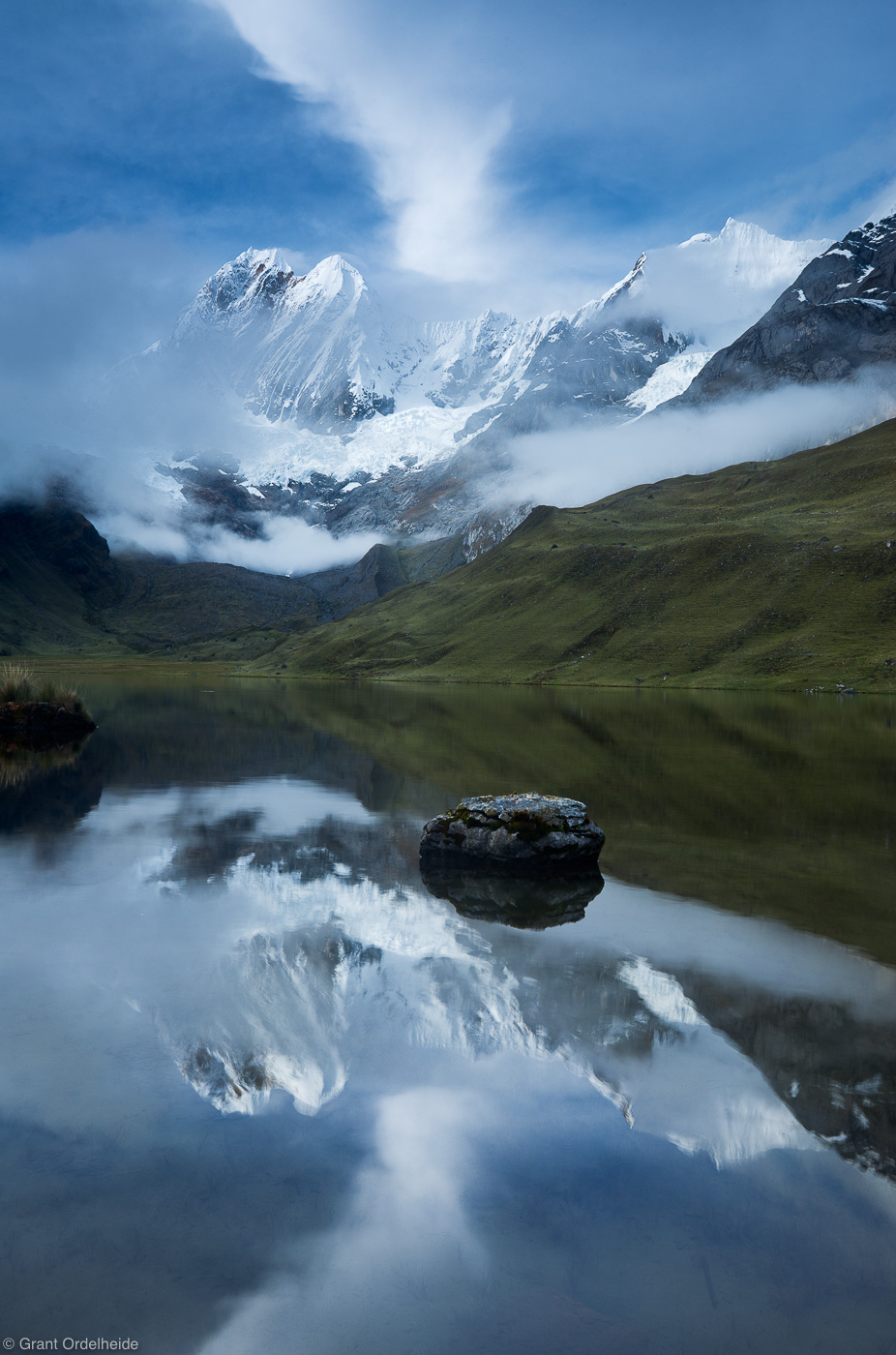 jirishanca, cordillera, huayhuash, huaraz, peru, highest, mountain, impressive, photo