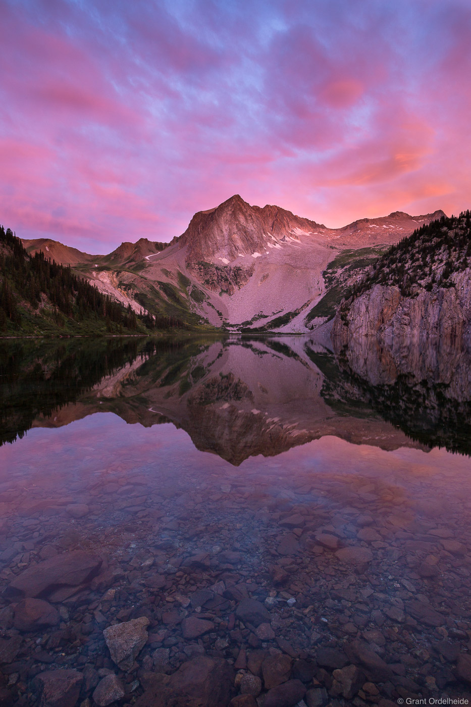 snowmass, lake, maroon bells, wilderness, aspen, colorado, reflected, sunrise, photo