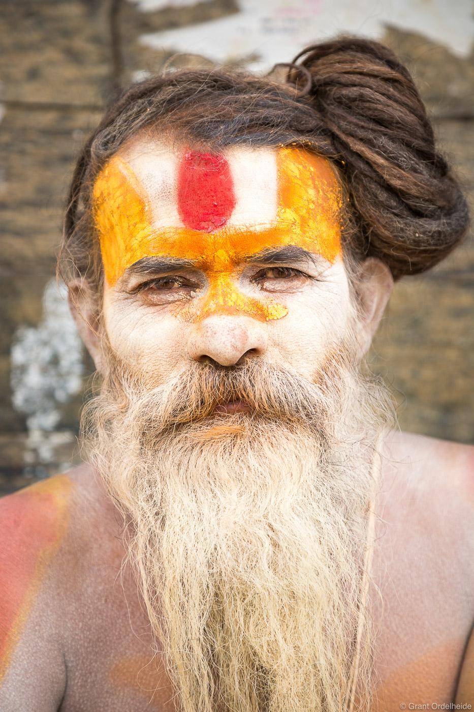 katmandu, sadu, nepal, holy man, portrait, hindu, temple, pashupatinath, photo