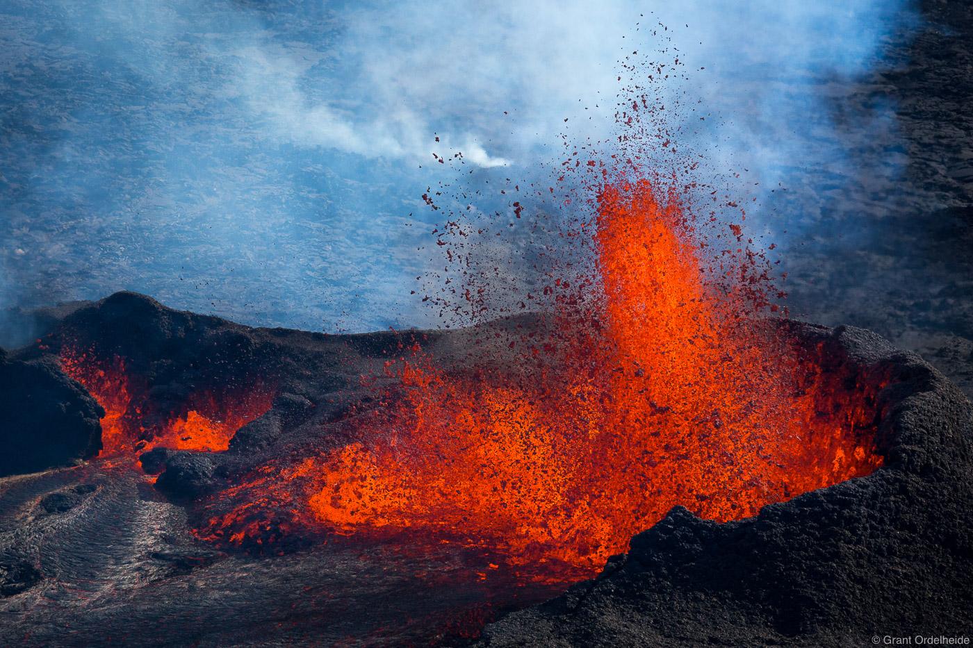lava, volcanic, eruption, vatnajökull, iceland, fissure, bardarbunga, volcano, holuhraun, field, photo