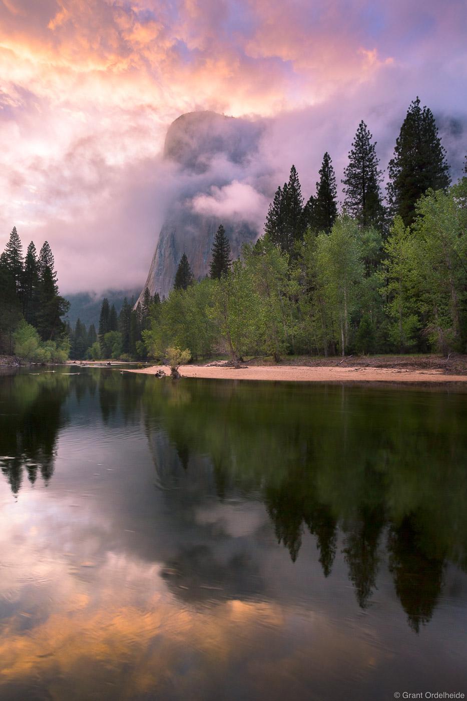 spring, el, cap, el capitan, clearing, storm, yosemite, national park, california, usa, merced, river, valley, , photo
