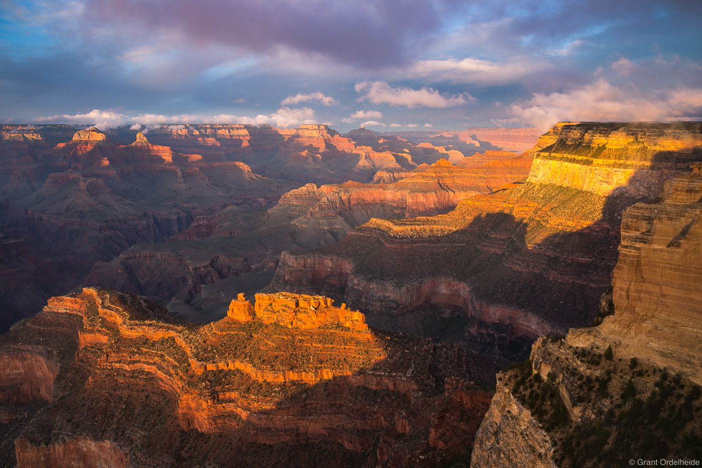 powell, point, sunset, grand, canyon, national, park, arizona, usa, south, rim, , photo